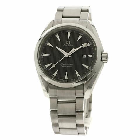 Omega Men's 231.10.39.61.06.001 'Seamaster Aqua Terra' Stainless Steel Watch - Grey