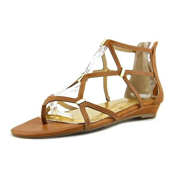 Thalia Sodi Pam Women Cognac Sandals
