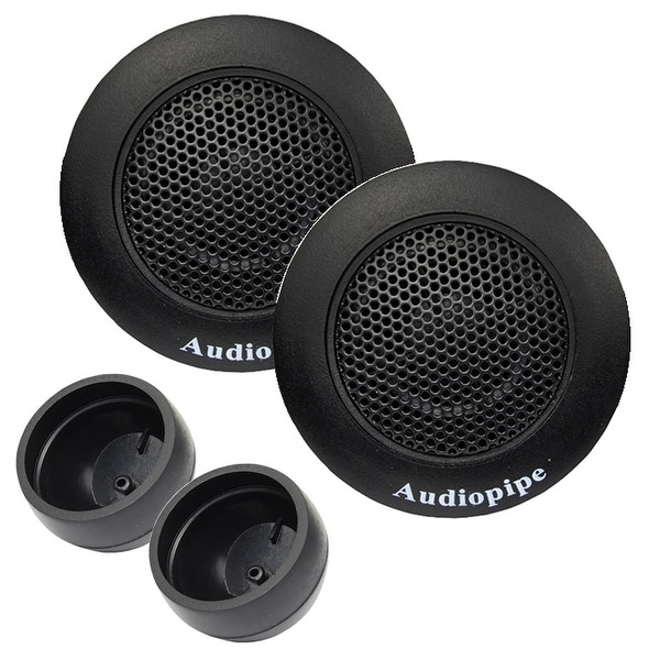Audiopipe Super High Frequency Tweeters (sold in pairs) 350W Max 4 Ohms