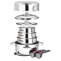 Magma A10-360L-IND Nestable 10 Piece Induction Cookware
