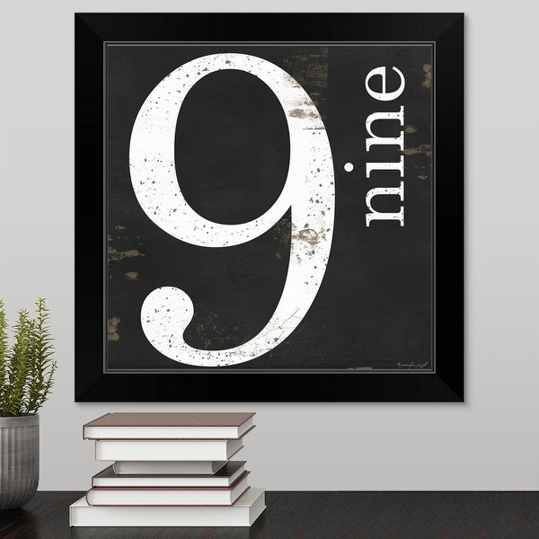 Jennifer Pugh Economy Framed Print with Standard Black Frame entitled Farmhouse Nine 9