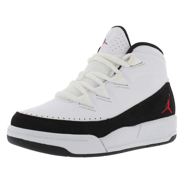 3693800cf36 Shop Jordan Jordan Deluxe Basketball Preschool Kid's Shoes - 11 m ...