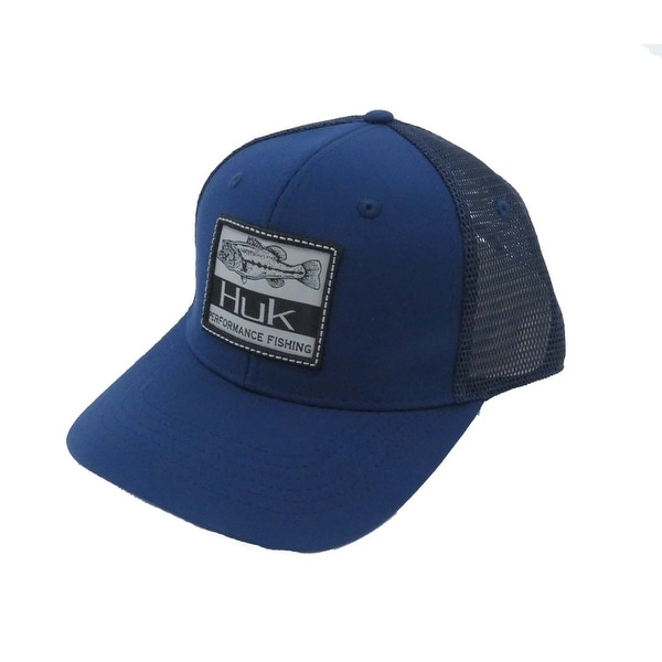 b827d78f4ab3f Shop Huk Lunker Patch One Size Navy Trucker Cap - Free Shipping On Orders  Over  45 - Overstock - 27129882