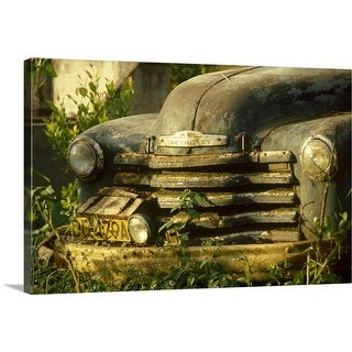 """Old car"" Canvas Wall Art"