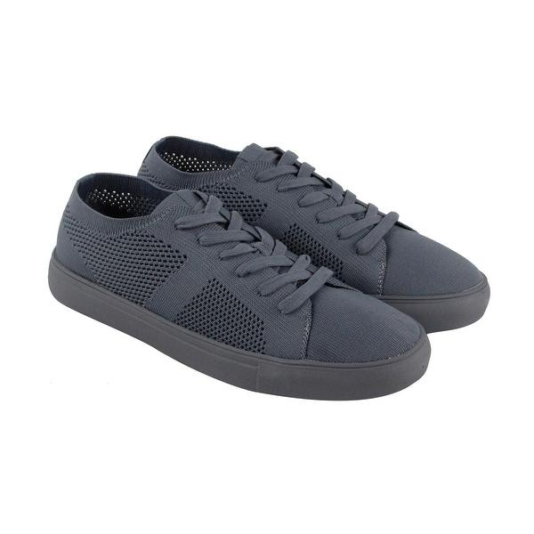 1f095ec3f41 Shop Steve Madden P-Xceel Mens Gray Mesh Lace Up Sneakers Shoes ...
