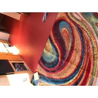 Porch & Den Crowther Multi-colored Area Rug - 5'2 x 7'2