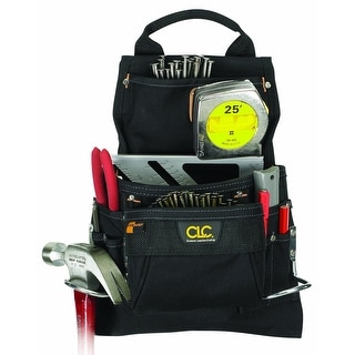 CLC 5833 Pro Framer Nail & Tool Bag, 9 Pockets