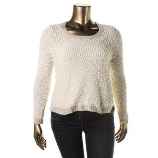 Almost Famous Womens Juniors Slub Knit Pullover Sweater