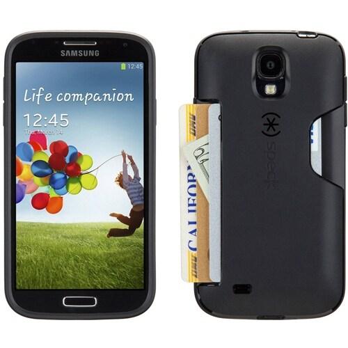 huge selection of 05949 6dede Speck SmartFlex Card Case for Samsung Galaxy S4 (Black)