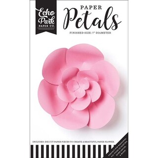 Small Pink Peony - Echo Park Paper Petals