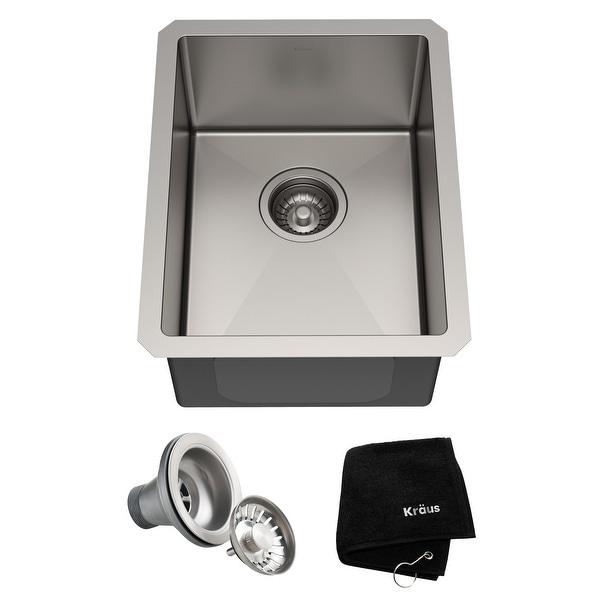 KRAUS Standart PRO Stainless Steel Undermount Kitchen Sink. Opens flyout.