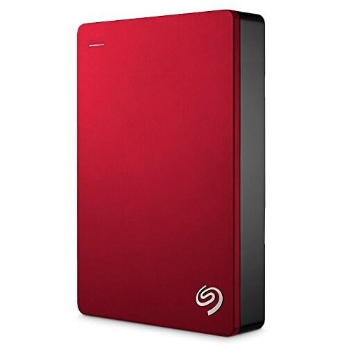 Seagate - 5Tb Backup Plus Portable Drive - Red