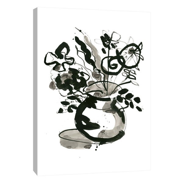 """PTM Images 9-108866 PTM Canvas Collection 10"""" x 8"""" - """"Fresh Flowers 6"""" Giclee Flowers Art Print on Canvas"""