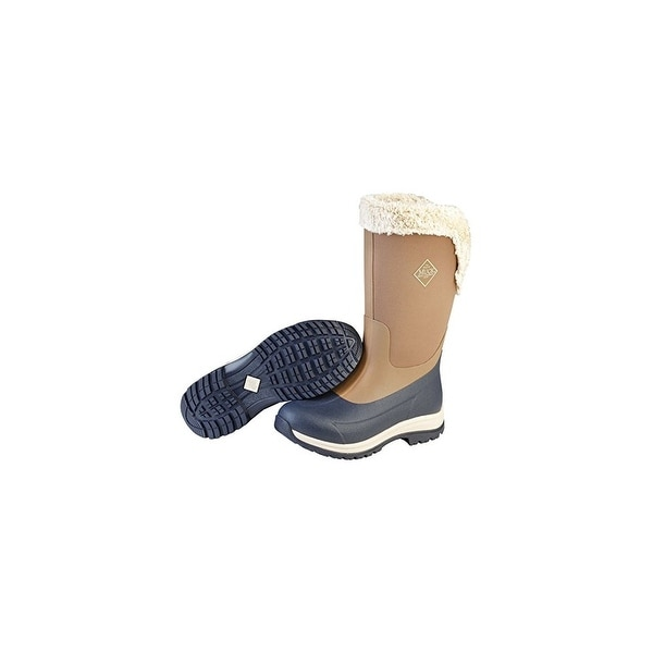 Muck Boots Otter/Total Eclipse Arctic Apres Tall Boot w/ Fleece Lining - Size 8