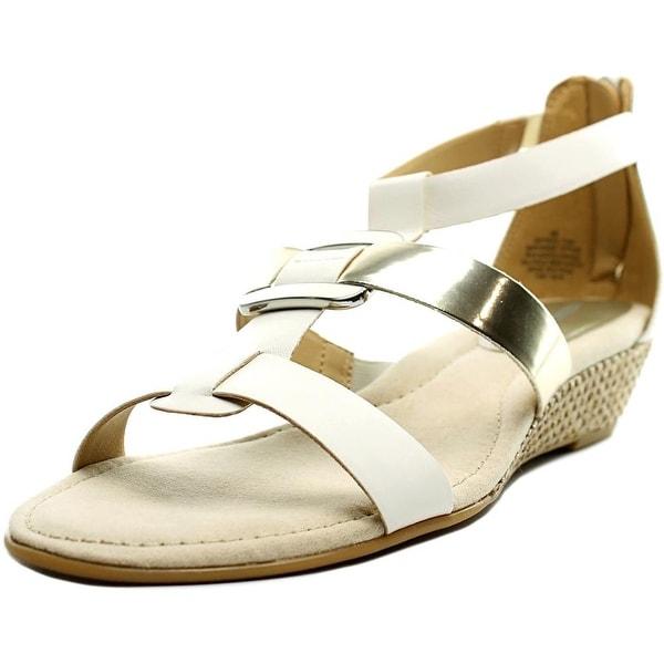 Easy Spirit Maylyn W Open Toe Synthetic Gladiator Sandal