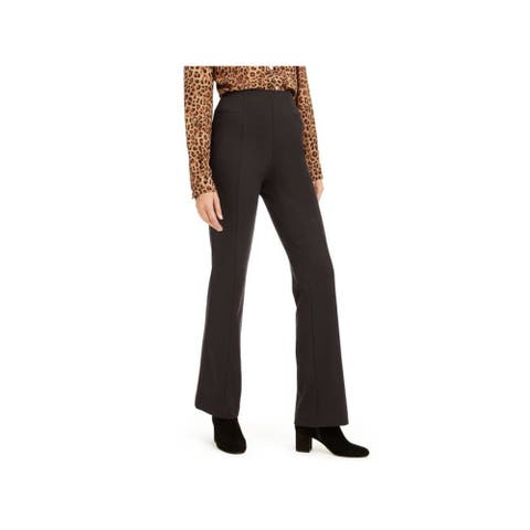 INC Womens Brown Boot Cut Wear To Work Pants Size 6
