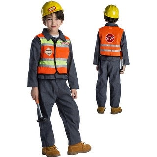 Kids Construction Worker Halloween Costume