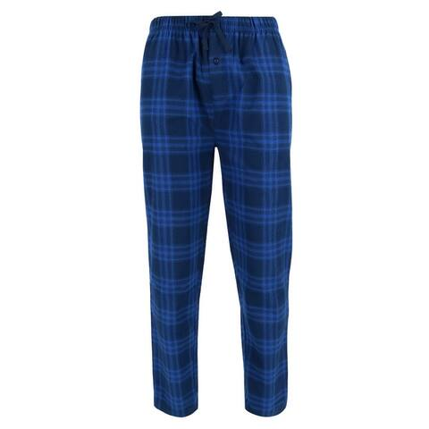 Wanted Men's 100% Cotton Flannel Lounge Pajama Jogger Pants
