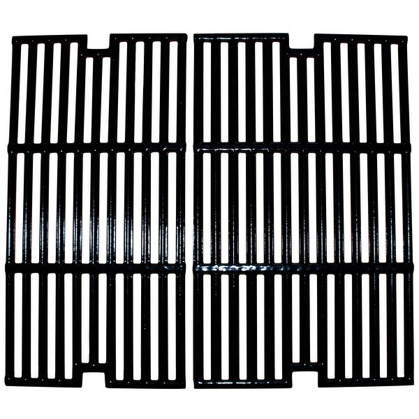 """2pc Gloss Cast Iron Cooking Grid for Centro and Cuisinart Gas Grills 21"""" - N/A"""