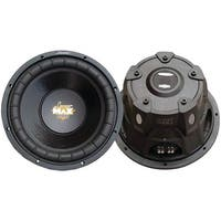 "LANZAR MAXP64 MaxPro Series Small 4ohm Subwoofer (6.5"", 600 Watts)"