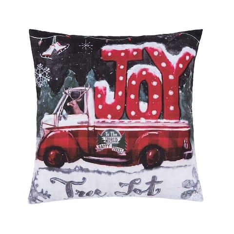 Tree Lot Joy Pillow