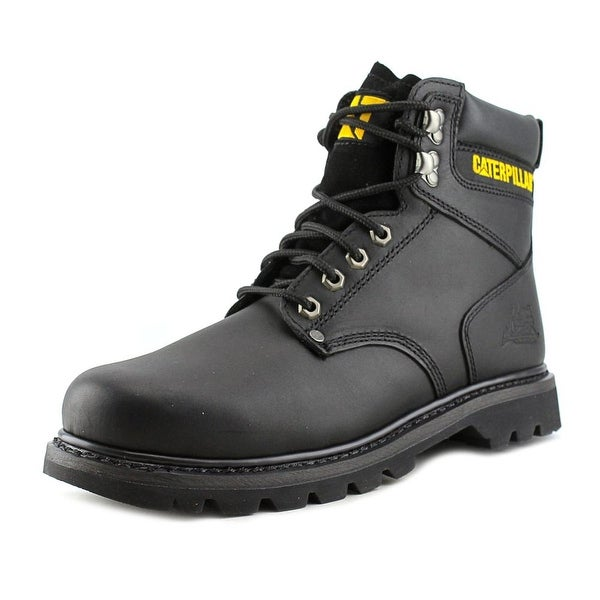 Caterpillar Second Shift Round Toe Leather Work Boot