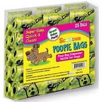 - Scoochie Super Value Poopie Bag Refill Rolls 25/Pkg