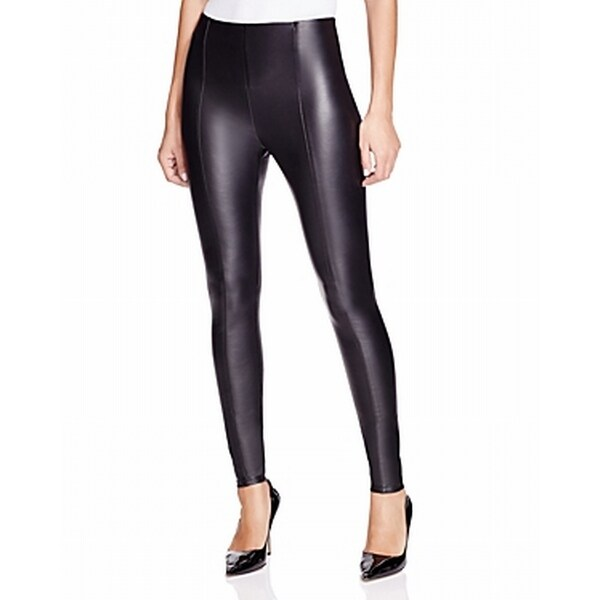 9ec24176f55bf6 Shop Lysse NEW Black Womens Size Small S Faux-Leather Skinny Jegging Pants  - Free Shipping Today - Overstock - 21729770