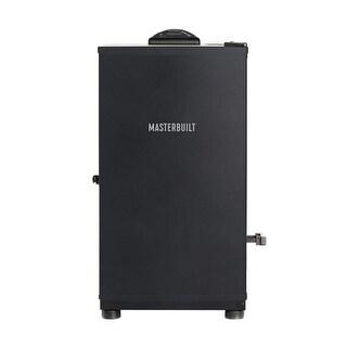 "Masterbuilt MB20071117 Digital Electric BBQ Smoker, Black, 30"""