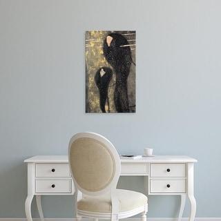 Easy Art Prints Gustav Klimt's 'Mermaids' Premium Canvas Art