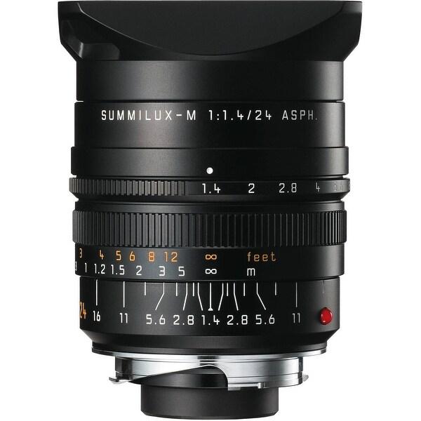 Leica Summilux-M 24mm f/1.4 ASPH. Lens - Black