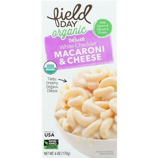 Field Day - Organic Deluxe White Cheddar Macaroni & Cheese ( 12 - 6 OZ)