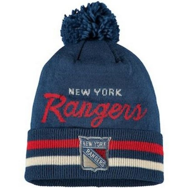 25eaf194831 Shop Adidas Men s NHL New York Rangers Stocking Knit Hat Beanie Winter Gray  12QCZ - Free Shipping On Orders Over  45 - Overstock - 26051691