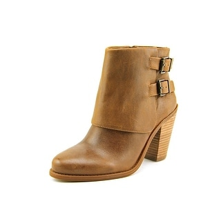 Jessica Simpson Cainn Round Toe Leather Ankle Boot