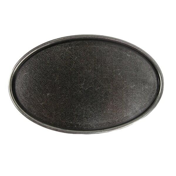 CTM® Blank Oval Belt Buckle