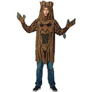 Rasta Imposta Scary Tree Adult Costume - Brown - One size