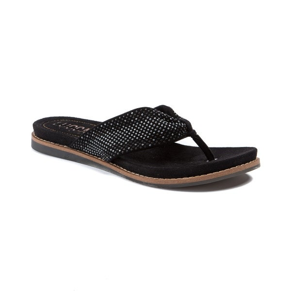 Lucca Lane Becka Women's Sandals & Flip Flops Black