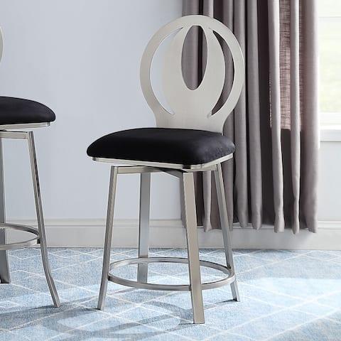 Furniture of America Thibbs Contemporary Barstools (Set of 2)