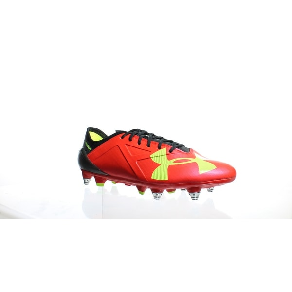 dd66442ce Shop Under Armour Mens Spotlight Hybrid Red Soccer Cleats Size 9 ...