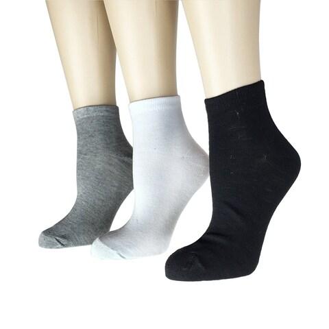 Women's 12 Pairs Pack Low Cut l Fancy Design Ankle Socks