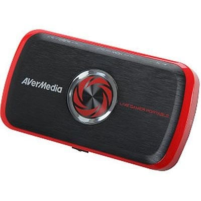 Avermedia Live Gamer Portable, Full Hd 1080P Recording Without Pc Directly To Sd Card, Ultra Low Latency, H.264 Hardware