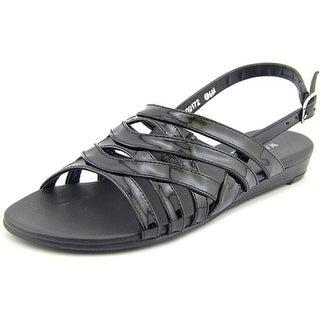 Mark Lemp By Walking Cradles Lanie 4A Open-Toe Synthetic Slingback Sandal