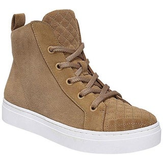 Naturalizer Women's Carrigan High Top Peanut Butter Oily Suede