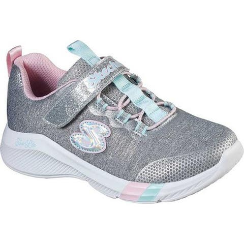 Skechers Girls' Dreamy Lites Sneaker Light Gray