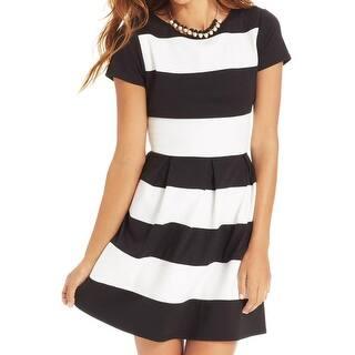 B. Darlin Womens Wear to Work Dress Ponte Short Sleeves - 13/14|https://ak1.ostkcdn.com/images/products/is/images/direct/02a7230768d0160c3c9194891bf023c69d704a33/B.-Darlin-Womens-Wear-to-Work-Dress-Ponte-Short-Sleeves.jpg?impolicy=medium