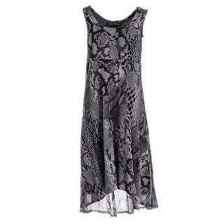 Robert Michaels Womens Casual Dress Knee-Length Sleeveless - m