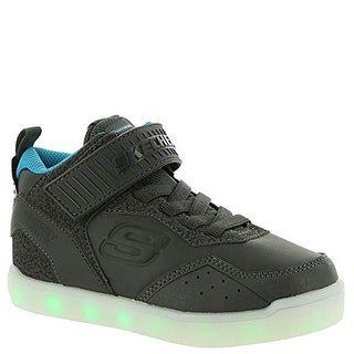 Skechers Energy Lights E Pro Boys' Toddler-Youth Oxford 5 M Us Big Kid Charcoal-Blue
