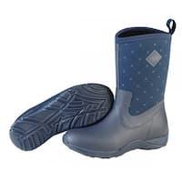 Muck Boots Navy Quilt Women's Arctic Weekend  Boot w/ Fleece Lining - Size 6