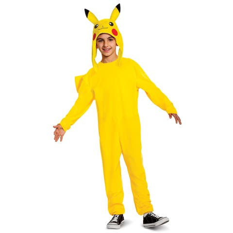 Disguise Pikachu Deluxe Child Costume - Yellow/Black
