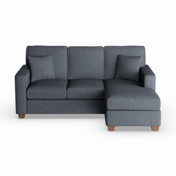 Copper Grove Cleome Reversible Chaise Sectional Sofa. Opens flyout.